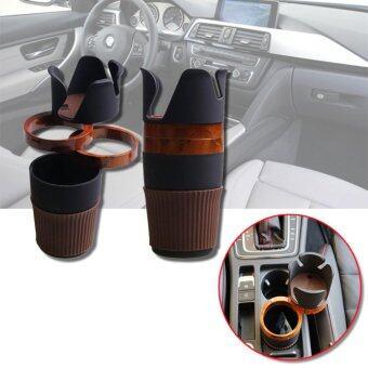 Elit 5 in 1 ที่วางแก้วน้ำในรถ ที่วางโทรศัพท์ พร้อมช่องใส่สัมภาระ