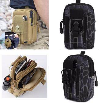 Bangkok life Men's Outdoor Camping Bag Hiking Pouch Military Army Waist Pack with Belt Loop