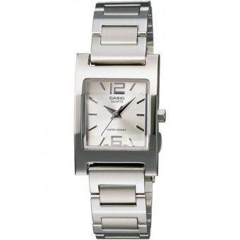 Casio นาฬิกาข้อมือ รุ่น LTP-1283D-7A - Silver/White