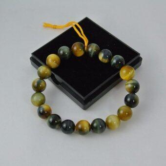 Pearl Jewelry กำไลหินนำโชค Golden Tiger Eyes ตาเสือทอง