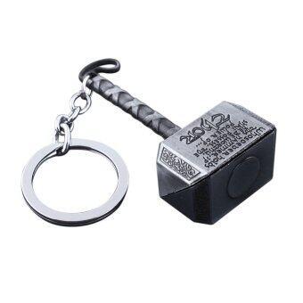ฮีโร่ที่อเวนเจอร์ส Marvel ลักษณะกระดอง Thor พวงกุญแจพวงกุญแจค้อนยักษ์