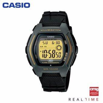 Casio Standard นาฬิกา HDD-600G-9AVDF ประกันศูนย์ CMG (Yellow)