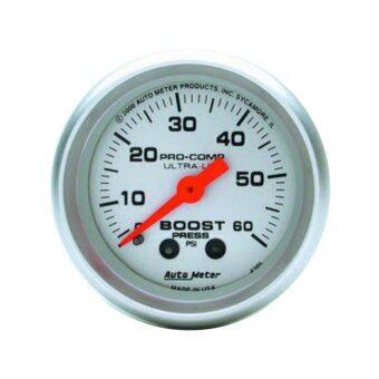 auto meter วัดเทอร์โบหน้าน้ำมัน (หน้าขาว)