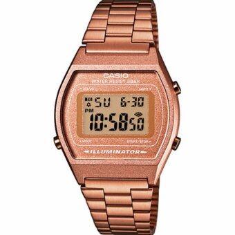 Casio Standard นาฬิกาข้อมือ สายสแตลเลส (ROSE GOLD) Tone รุ่น B640WC-5AEF