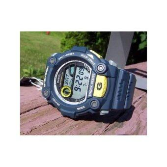 Casio g-shock นาฬิกาข้อมือผู้ชาย สีกรมท่า สายเรซิ่น รุ่น G-7900-2DRประกันcmg