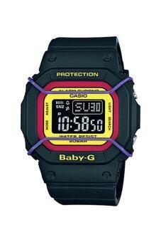 Casio Baby-G นาฬิกาข้อมือผู้หญิง สีดำ สายเรซิ่น รุ่น BGD-501-1B