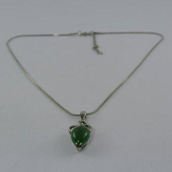 Pearl Jewelry สร้อยคอจี้หยก JD19