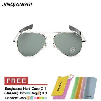 แว่นตากันแดดแว่นตานักบินผู้ออกแบบแสงสียี่ห้อ GreySilver