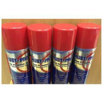 น้ำมันป้องกันสนิม Rust Pro 200 ml (แพ็ค 4 กระป๋อง)
