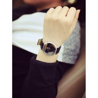 Ccjeans JIS Rectangle luxury Watch นาฬิกาหน้าปัดสามเหลี่ยม