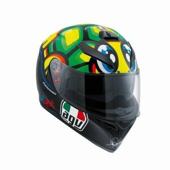 AGV หมวกกันน็อก หมวกกันน็อค หมวกกันน๊อก หมวกกันน๊อค AGV K-3 SV TARTARUGA ลาย เต่า (Big Bike and motorcycle Helmet)