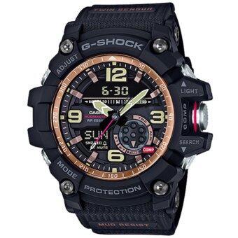 Casio G-Shock นาฬิกาข้อมือผู้ชาย สายเรซิ่น รุ่น GG-1000RG-1A - สีดำ