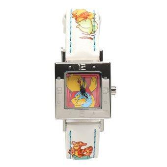 Disney นาฬิกา POOH รุ่น WPFR298-01C สีขาว