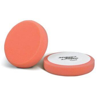 SHINE MATE ฟองน้ำขัดเคลือบสีรถ รุ่น Flat สีส้ม ขนาด 6 นิ้ว
