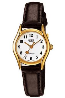 Casio นาฬิกาข้อมือผู้หญิง รุ่น LTP-1094Q-7B5RDF-Brown