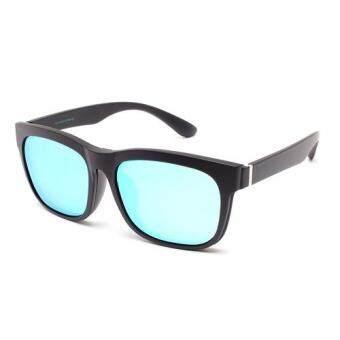 Marco Polo แว่นสายตา+คลิปออนกันแดด - EMD58043 BL(Transparent Multicolor)(Transparent Multicolor)