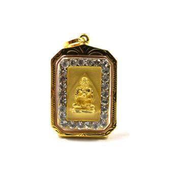 จี้สมเด็จโต กรอบทองเรียบห่วงกลม(Gold)
