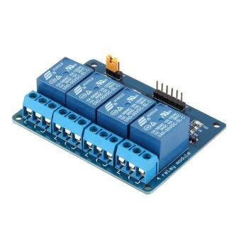 บอร์ดไฟฟ้า 4 ช่อง แผงวงจรไฟฟ้า อุปกรณ์เสริมอิเล็คทรอนิกส์