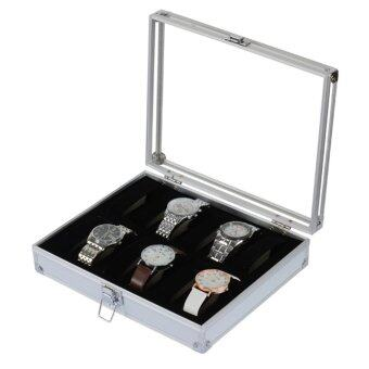 กล่องอะลูมิเนียมสำหรับเก็บนาฬิกาข้อมือเครื่องประดับ 1 ใบ