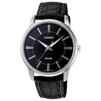 Casio Standard นาฬิกาข้อมือ สายหนัง รุ่น MTP-1303L-1A - Black