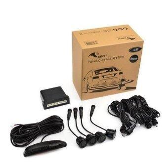 STEELMATE เซ็นเซอร์ถอยหลังสำหรับรถยนต์ระบบ 4 เซ็นเซอร์ รุ่น Ebat C2 (Black)