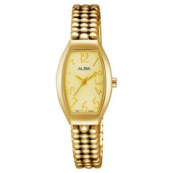 Alba นาฬิกาข้อมือสุภาพสตรี สายสแตนเลส รุ่น AH8248X1 (Gold)