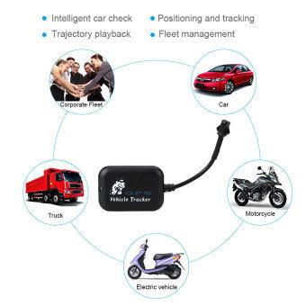 รถจักรยานยนต์พาหนะรถตำแหน่งจีพีเอสแทรคเกอร์โกลบอลเรียล 4 แถบป้องกันการขโมย