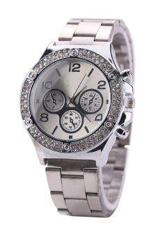 Bluelans หญิงเงินผสมสายนาฬิกา