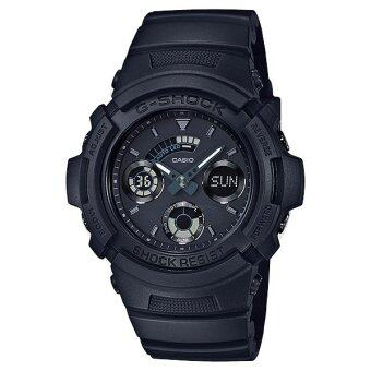 Casio นาฬิกาข้อมือ G-Shock สายเรซิ่น รุ่น AW-591BB-1