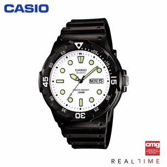 Casio Standard นาฬิกา MRW-200H-7EVDF ประกันศูนย์ CMG (White)