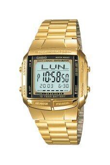 Casio Standard นาฬิกาข้อมือ สายสแตนเลส รุ่น DB-360G-9AHDF - สีทอง