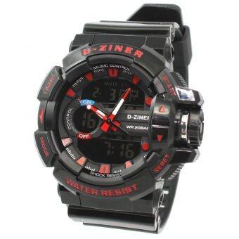 D-ZINER นาฬิกาข้อมือผู้ชาย สายซิลิโคน รุ่น DZ-8089