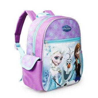 Hely TOP Kids Baby Girl Cartoon Schoolbag Backpack Travelling Bag (Purple) - intl