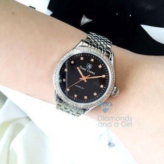 นาฬิกาข้อมือ Royal Crown สเตนเลสสตีล 6242L
