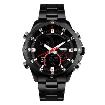 2559 คุณภาพสูง SKMEI ใหม่ 1146 S ' ผู้ชายถอดนาฬิกาปฏิทิน (สีดำ)