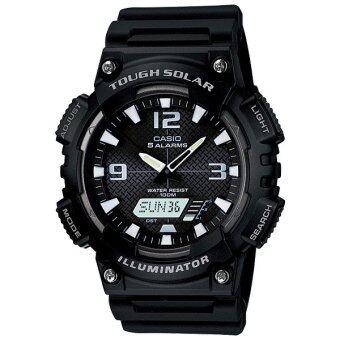 Casio Standard นาฬิกาข้อมือ Tough Solar รุ่น AQ-S810W-1A ( Black )