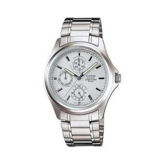 นาฬิกาข้อมือ คาสิโอ Casio Standard รุ่น MTP-1246D-7AVDF (Silver)