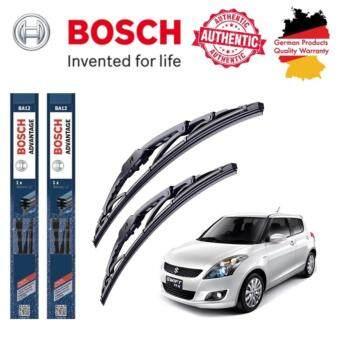ใบปัดน้ำฝน Bosch Advantage ขนาด 22 นิ้ว และ 18 นิ้ว สำหรับ Suzuki SWIFT Year 12 -
