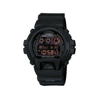 DW-6900MS-1DR ประกันCMGCASIO G-SHOCK รุ่น DW-6900MS-1DR (CMG) นาฬิกาข้อมือ สายเรซิ่น สีดำ