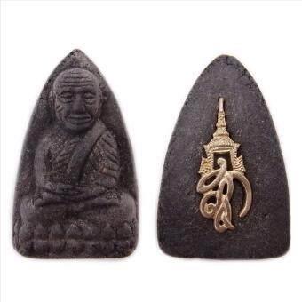 107Mongkol หลวงปู่ทวด พระนามาภิไธย ส.ก. ผสมผงสมเด็จบางขุนพรหม เนื้อว่านคลุกรัก พิมพ์เตารีด ปี 2550 วัดห้วยมงคล