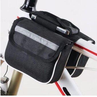 chaiyoกระเป๋าพาดเฟรมจักรยาน - สีดำ