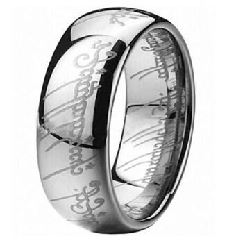 Bluelans หญิงชาย 316 สเตนเลสคัมภีร์รักแหวนเครื่องประดับเงิน