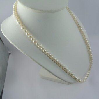 Pearl Jewelry สร้อยคอมุก น้ำจืดแท้ 7.5-8 มิล Grand Pearl AAAAA