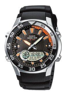 Casio Standard นาฬิกาข้อมือผู้ชาย สีดำ สายเรซิ่น รุ่น AMW710-1A