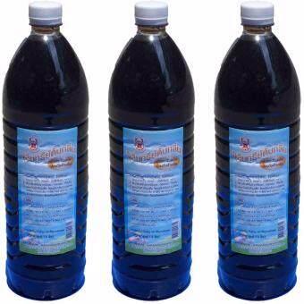 ASOKE น้ำหมักจุลินทรีย์ สูตรดับกลิ่น และป้องกันห้องน้ำเต็ม 3ขวด