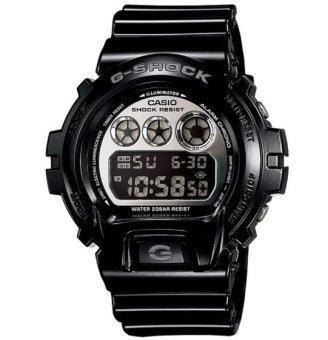 Casio G-Shock นาฬิกาข้อมือผู้ชาย สีดำ สายเรซิ่น รุ่น DW-6900NB-1DR