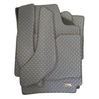 Matpro พรมปูพื้นเข้ารูป 100% ลายกระดุม ชุด Standard Set 5 ชิ้น รุ่น TOYOTA VIOS 2007-2012 (Grey)