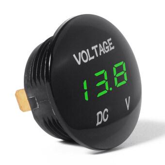 Recent Product of : อุปกรณ์วัดแรงดันไฟฟ้า สำหรับ DC 12V-24V Car Motorcycle Auto Truck (ไฟสีน้ำเงิน)