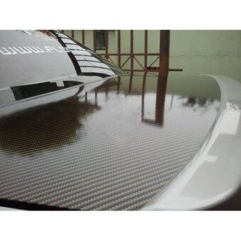Alicar สติ๊กเกอร์เคฟล่า 2D - สีดำทอง 40x76cm