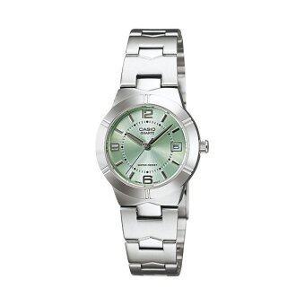 Casio Lady นาฬิกาข้อมือ รุ่น LTP-1241D-3A - Green